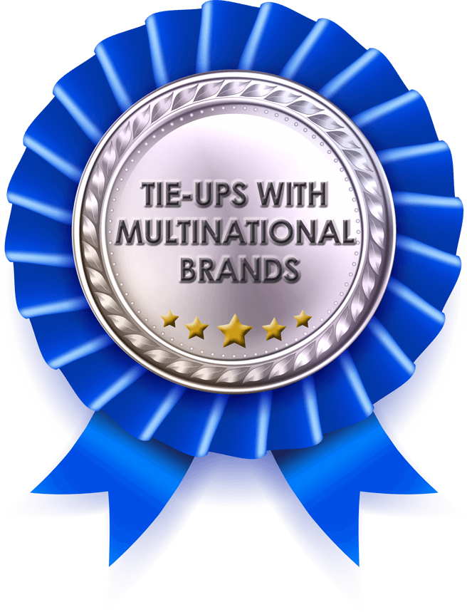 Tie-ups with Multinational Brands